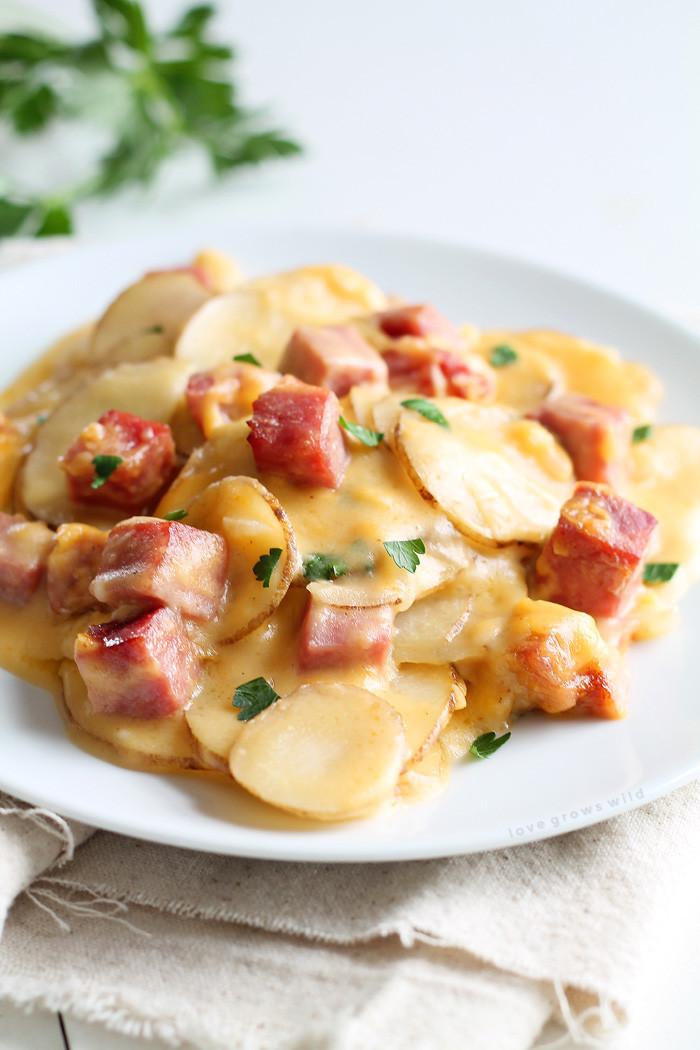 Ham And Potato Recipes  25 Leftover Ham Recipes