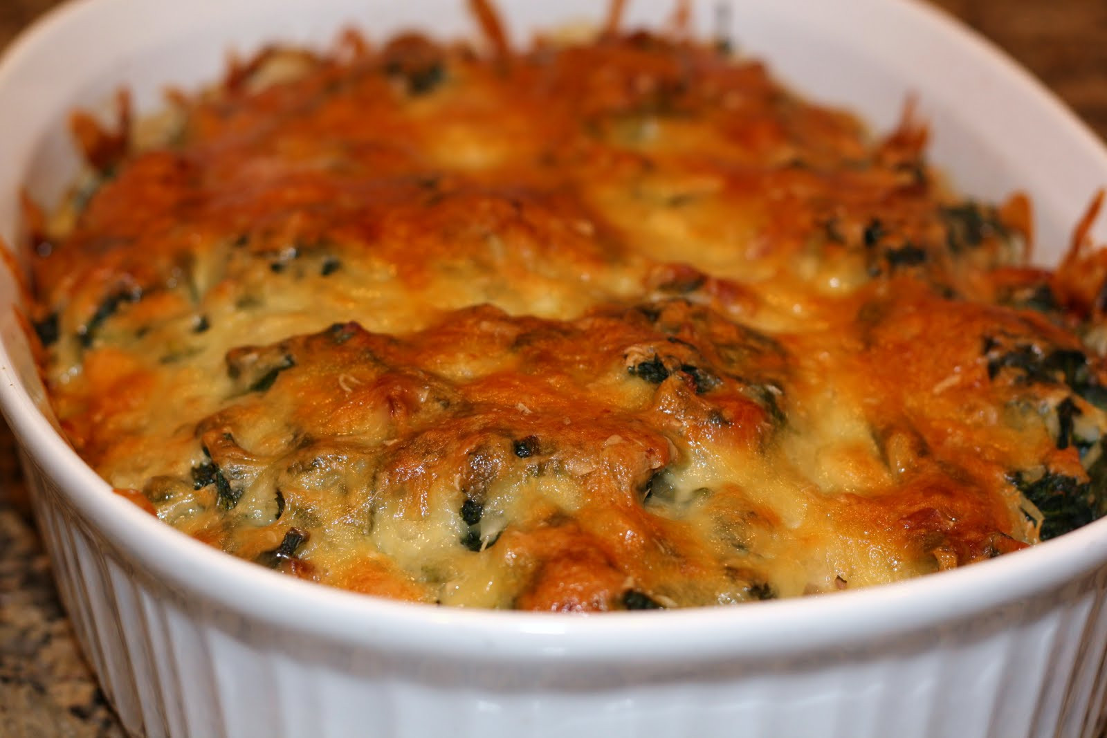 Ham And Rice Casserole  what s for dinner spinach ham and rice casserole 50