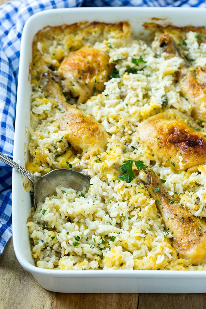 Ham And Rice Casserole  Chicken and Rice Casserole Dinner at the Zoo