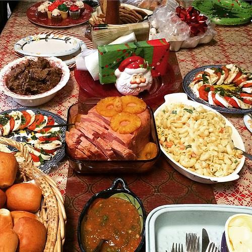 Ham Christmas Dinner  Christmas Roast and Ham Dinner Had Tamales for Christmas