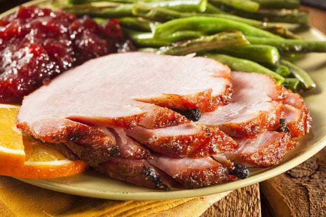 Ham Christmas Dinner  Simple Christmas Ham Dinner with Sides CilantroCooks