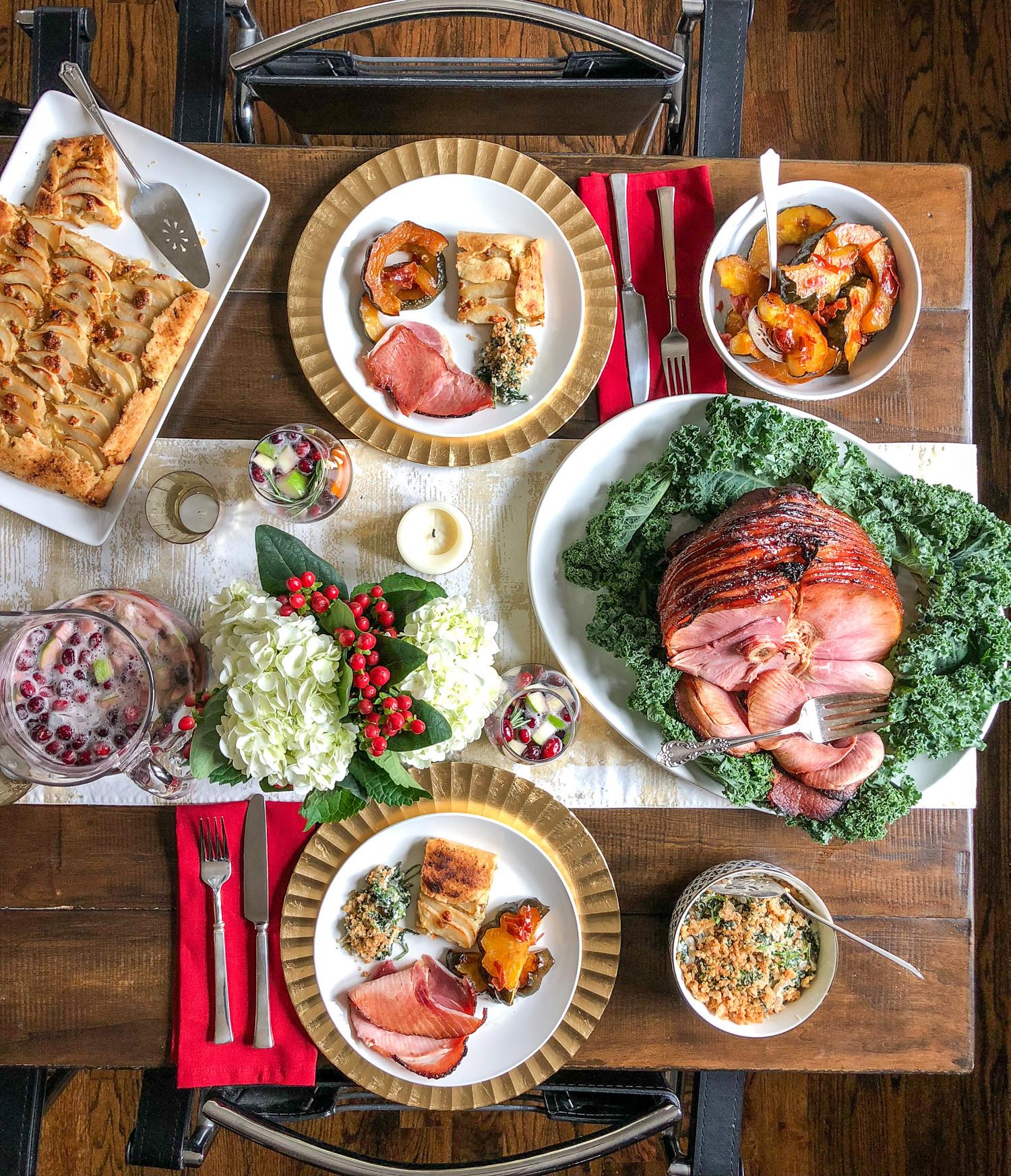 Ham Dinner Ideas  Christmas Dinner Menu Ideas Plan a Memorable Meal for