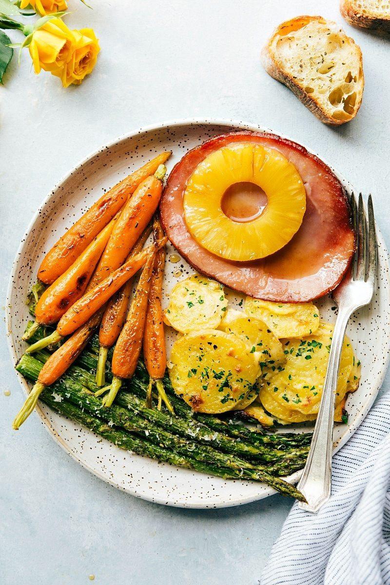 Ham Dinner Ideas  e Hour Easter Dinner Chelsea s Messy Apron