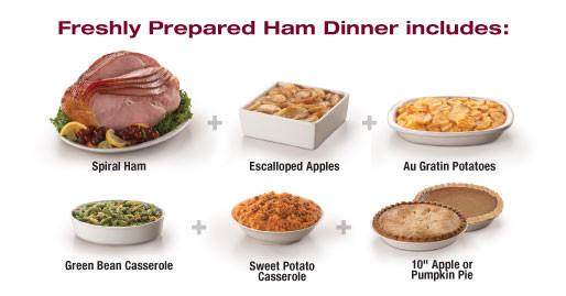Ham Dinner Sides  Tops Friendly Markets Tops Departments