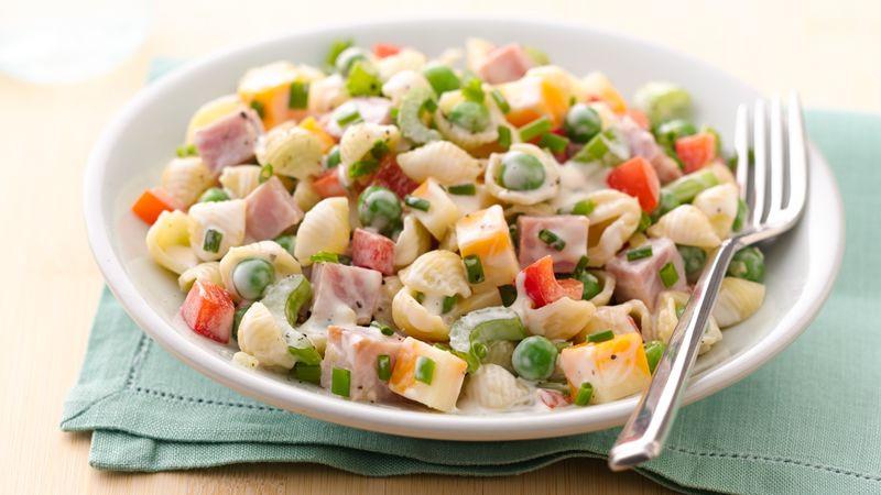Ham Pasta Salad  30 Minute Ham and Pasta Salad Recipe BettyCrocker