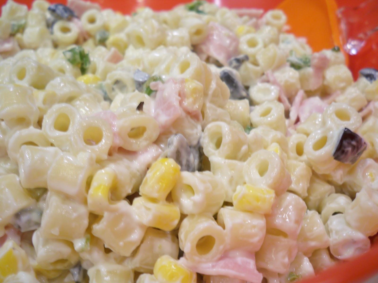 Ham Pasta Salad  Easy Ham and Jalapeño Macaroni Salad