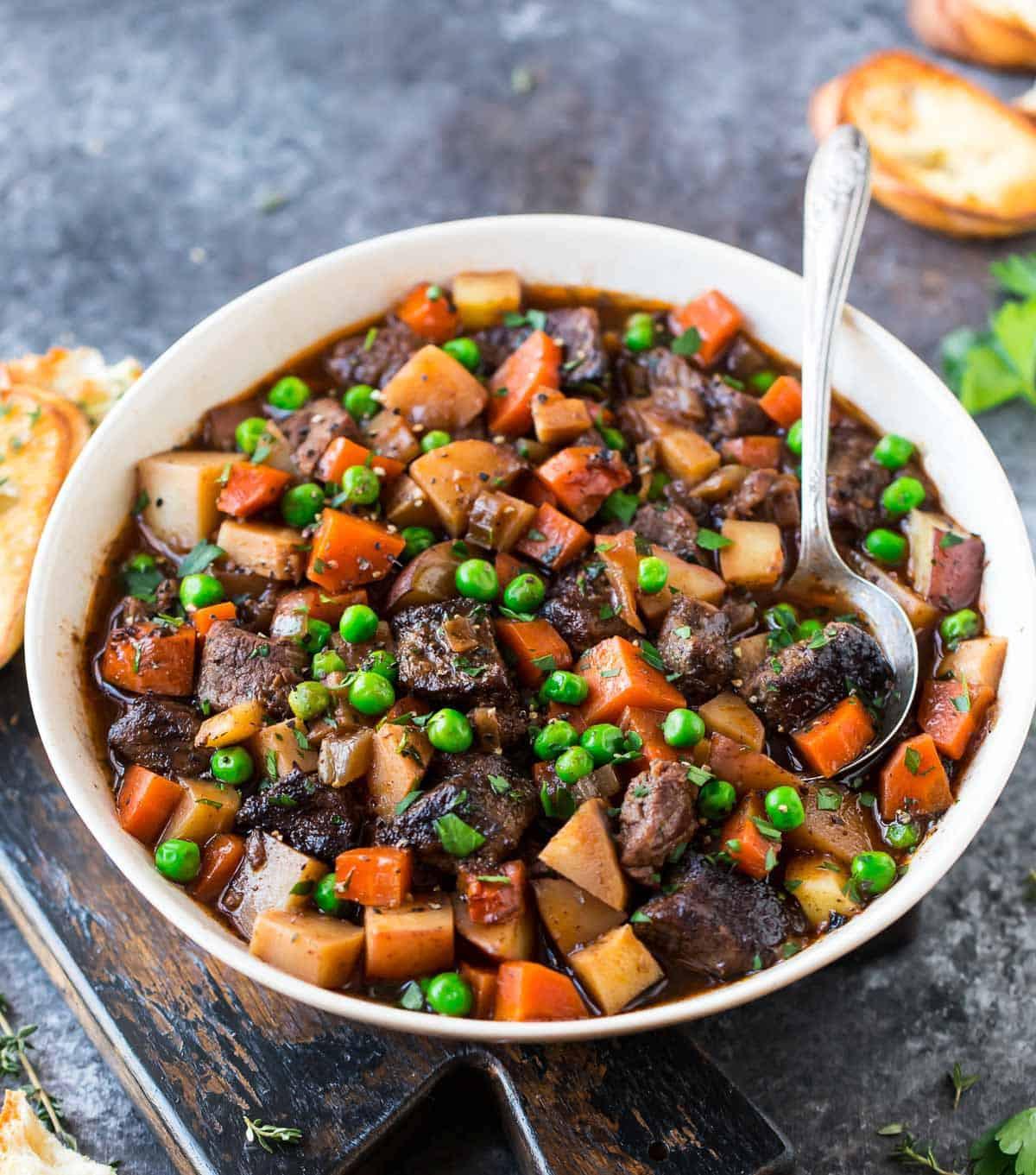 Hamburg Stew Recipe  Crock Pot Beef Stew Recipe
