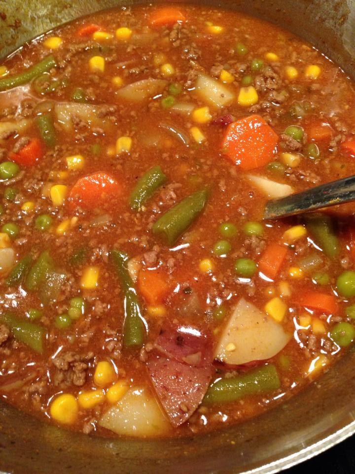 Hamburg Stew Recipe  Favorite Hamburger Stew Recipe