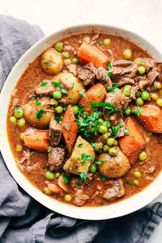 Hamburg Stew Recipe  Best Ever Slow Cooker Beef Stew