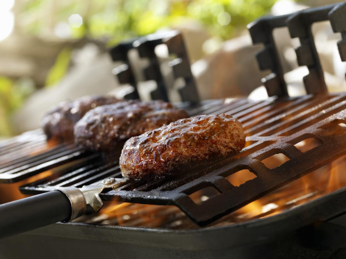 Hamburgers On The Grill  Barbecue Fest Things to Consider Before Buying a Hibachi