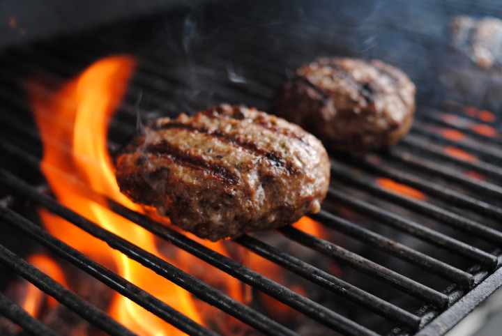 Hamburgers On The Grill  7 Steps to BBQing the Best Burger Diamond Fireplace