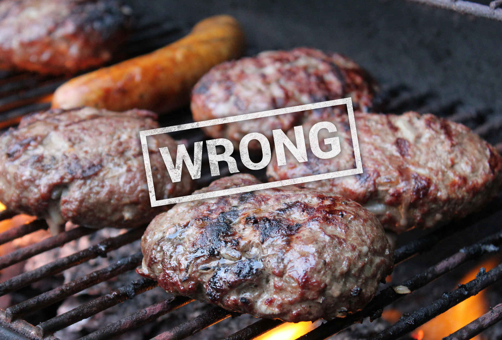 Hamburgers On The Grill  6 Ways You re Grilling Burgers Wrong