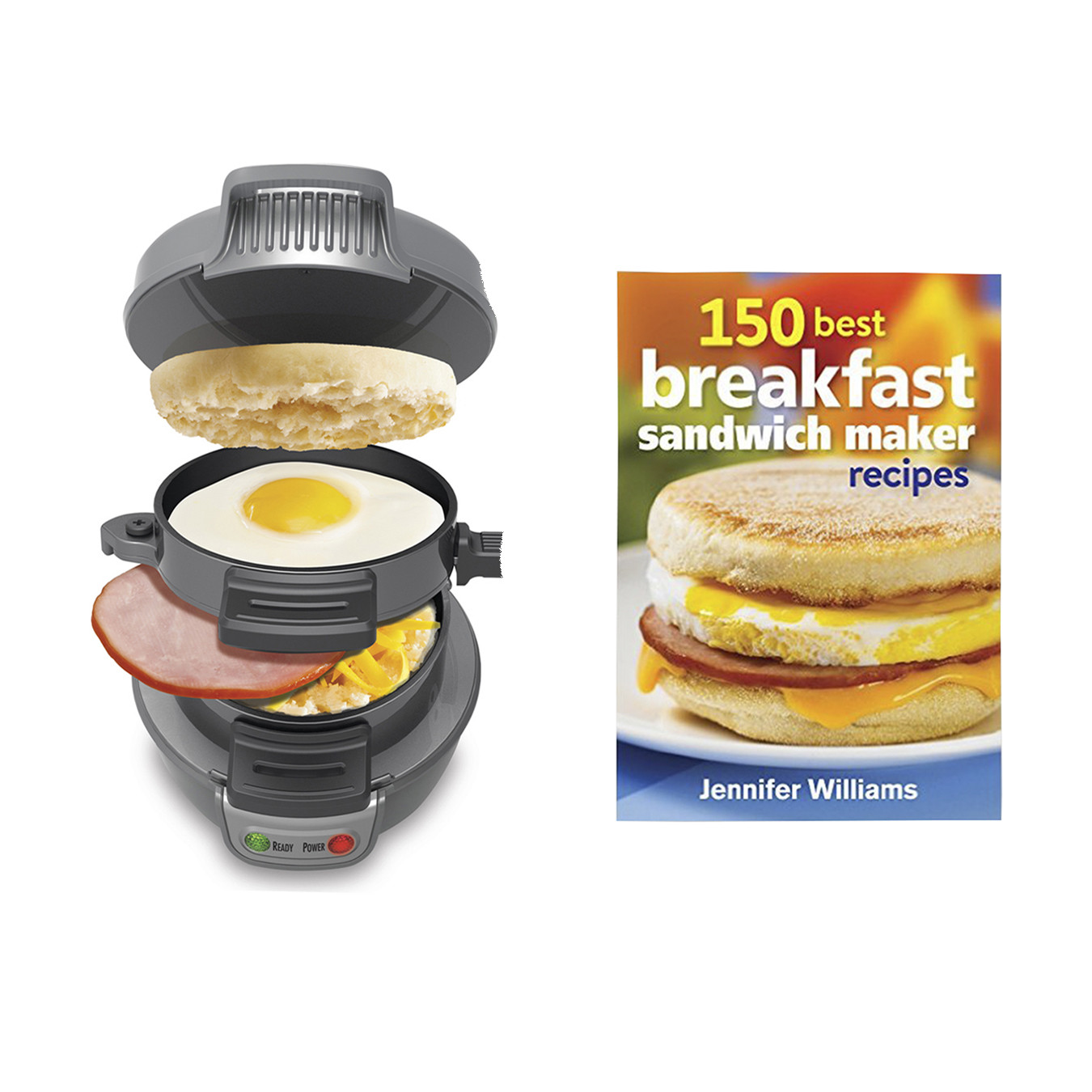 Hamilton Beach Breakfast Sandwich Maker Recipes  Hamilton Beach Breakfast Sandwich Maker Countertop Silver