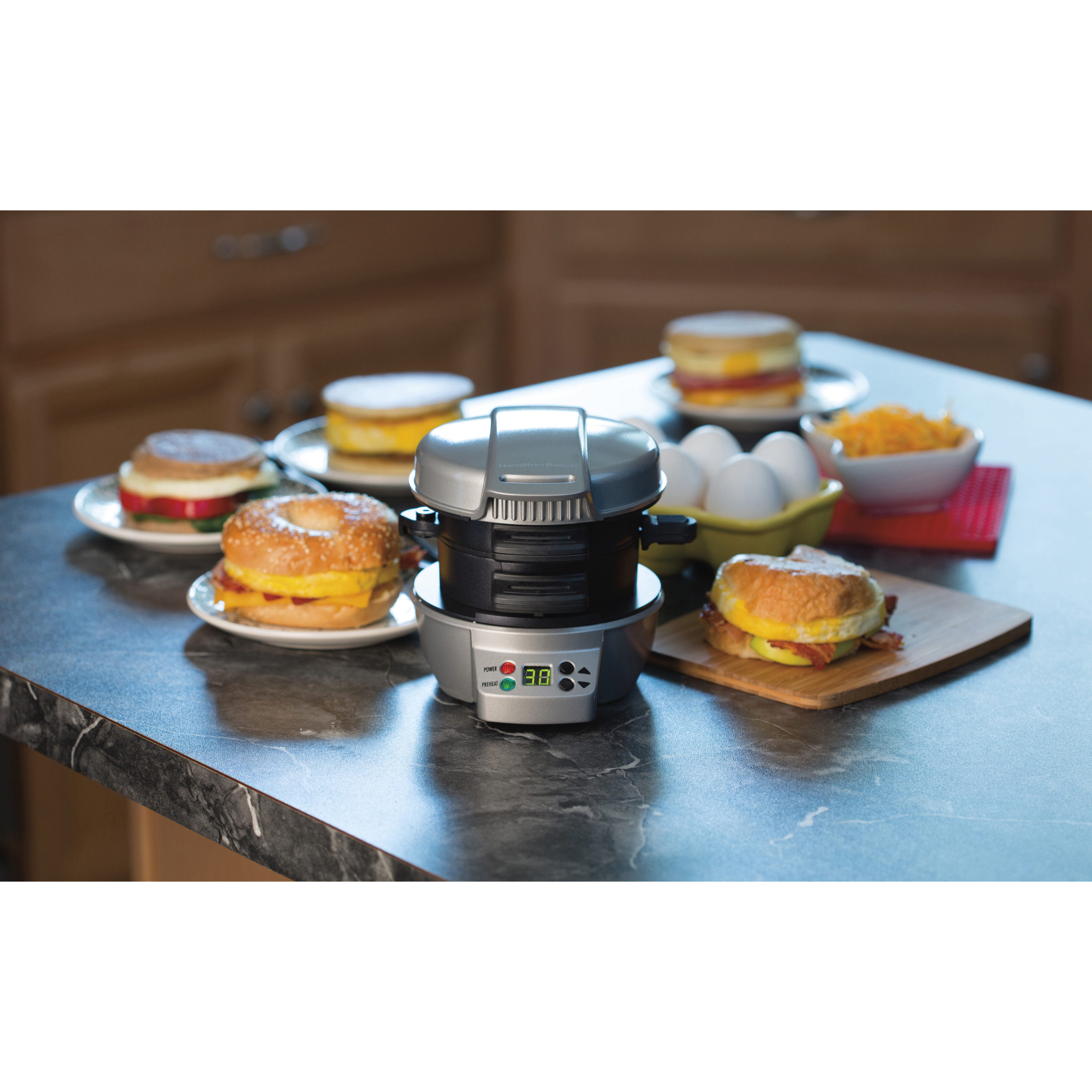 Hamilton Beach Breakfast Sandwich Maker Recipes  Hamilton Beach Breakfast Sandwich Maker & Reviews
