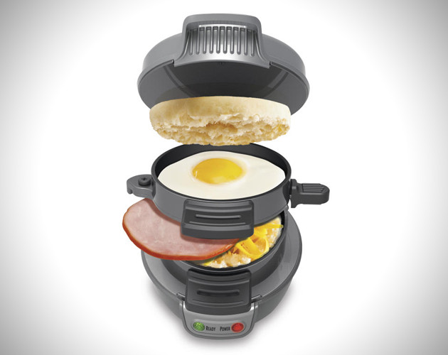 Hamilton Beach Breakfast Sandwich Maker Recipes  5 Minute Breakfast Sandwich Maker by Hamilton Beach