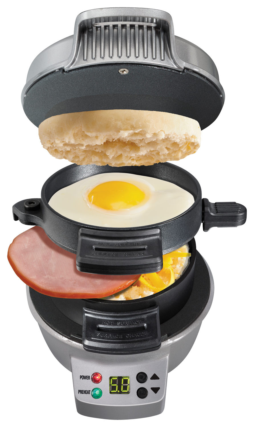 Hamilton Beach Breakfast Sandwich Maker Recipes  Hamilton Beach Breakfast Sandwich Maker Multi Best Buy