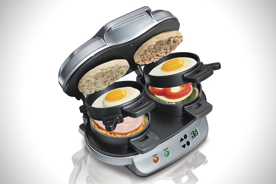Hamilton Beach Breakfast Sandwich Maker Recipes  Hamilton Beach Dual Breakfast Sandwich Maker