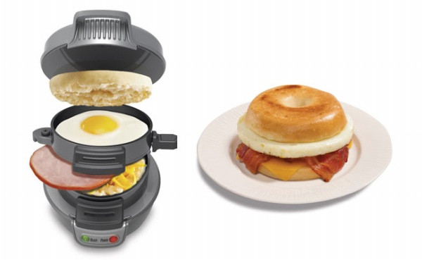 Hamilton Beach Breakfast Sandwich Maker Recipes  Hamilton Beach Sandwich Maker Cooks up a Full Breakfast in