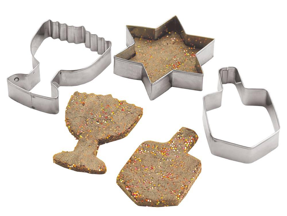 Hanukkah Cookies Cutters  Metal Chanukah Cookie Cutters