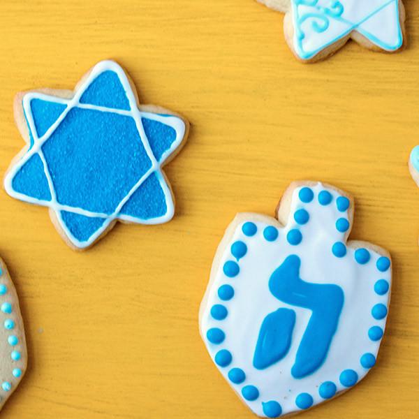 Hanukkah Cookies Cutters  Hanukkah Sugar Cookie Recipe