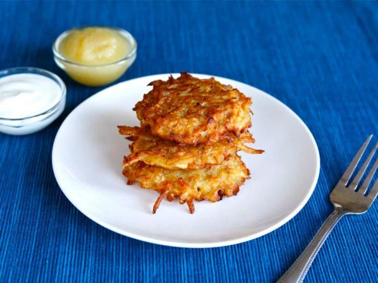 Hanukkah Potato Latkes  Classic Potato Latkes
