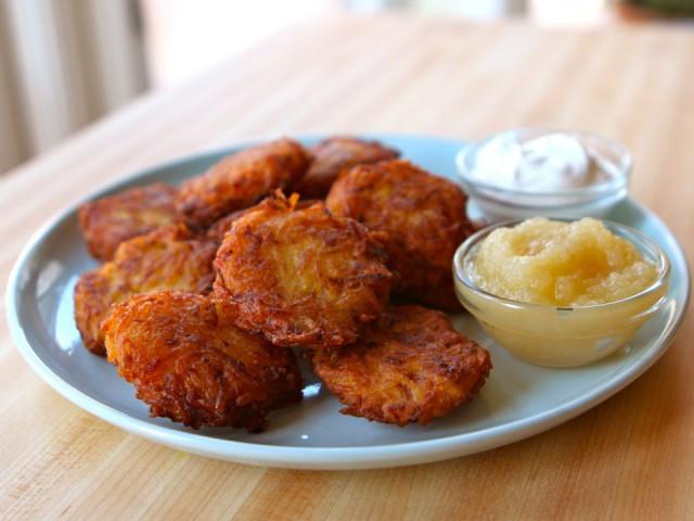 Hanukkah Potato Latkes  Gluten Free Hanukkah Latkes WorldRD by Layne Lieberman RD