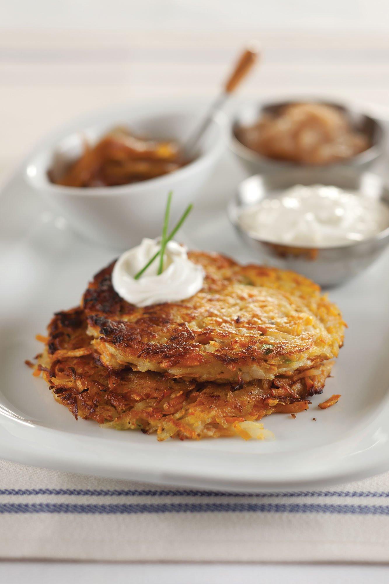 Hanukkah Potato Latkes  A Vegan Sweet Potato Latke Recipe for Hanukkah Vogue