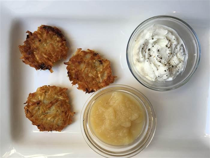 Hanukkah Potato Latkes  Classic Hanukkah Potato Latkes TODAY