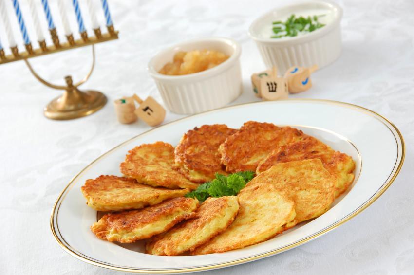 Hanukkah Potato Latkes  POTATO LATKES ALMOST DAD S WAY