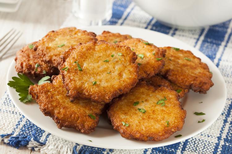 Hanukkah Potato Latkes  Best Latke Trick For Easy Potato Pancakes Simplemost