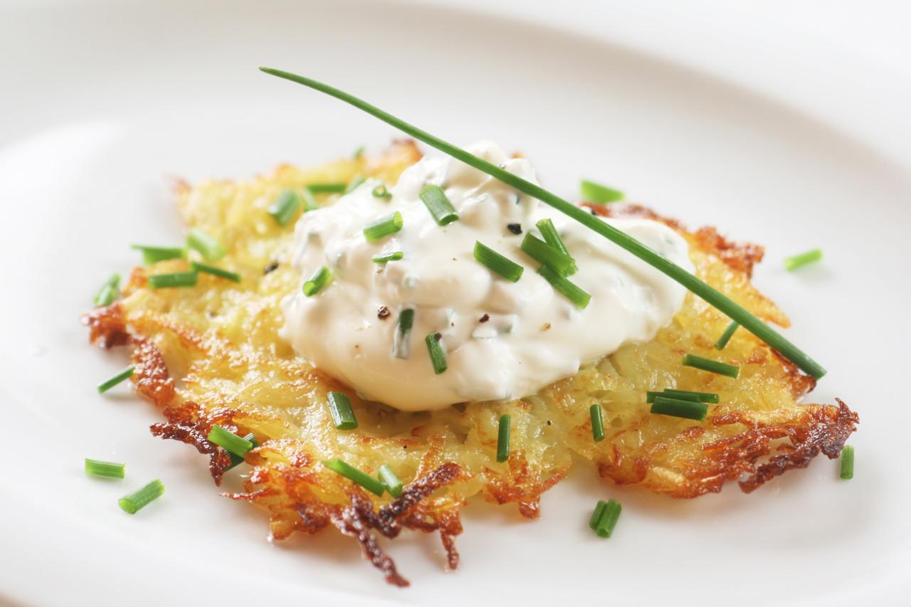 Hanukkah Potato Latkes  How to Make Potato Latkes