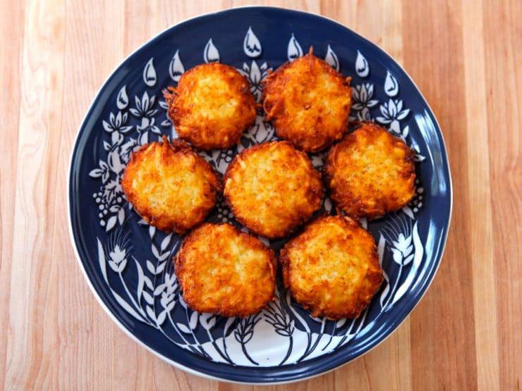 Hanukkah Potato Latkes  Crispy Panko Potato Latkes Hanukkah Recipe & Tutorial