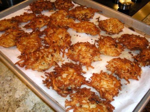 Hanukkah Potato Latkes  Potato Latkes