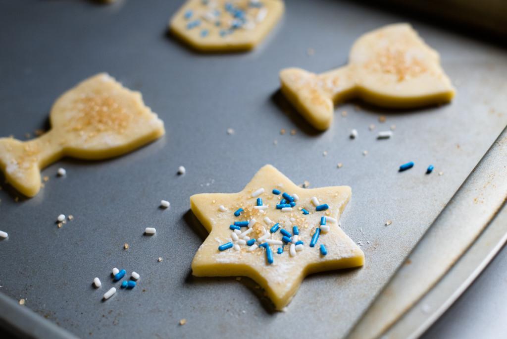Hanukkah Sugar Cookies  Hanukkah Sugar Cookies Oakhurst Kitchen
