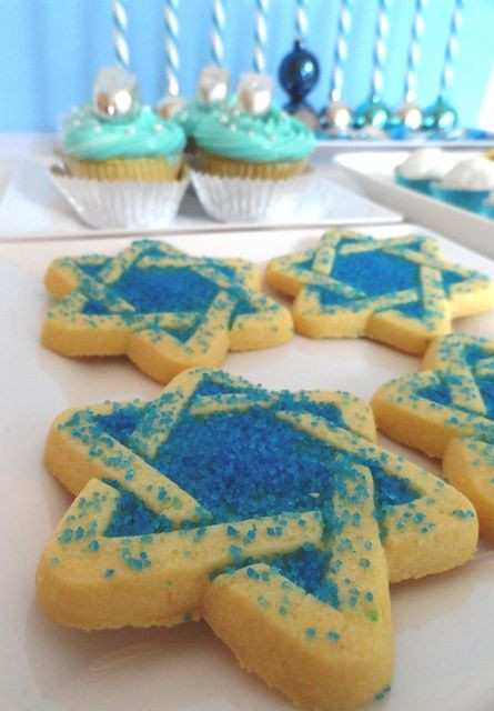 Hanukkah Sugar Cookies  1000 images about Cookies Hanukkah on Pinterest