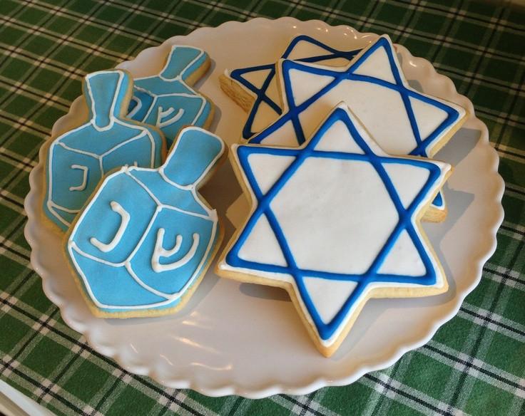 Hanukkah Sugar Cookies  164 best images about Cookies Hanukkah Angel on