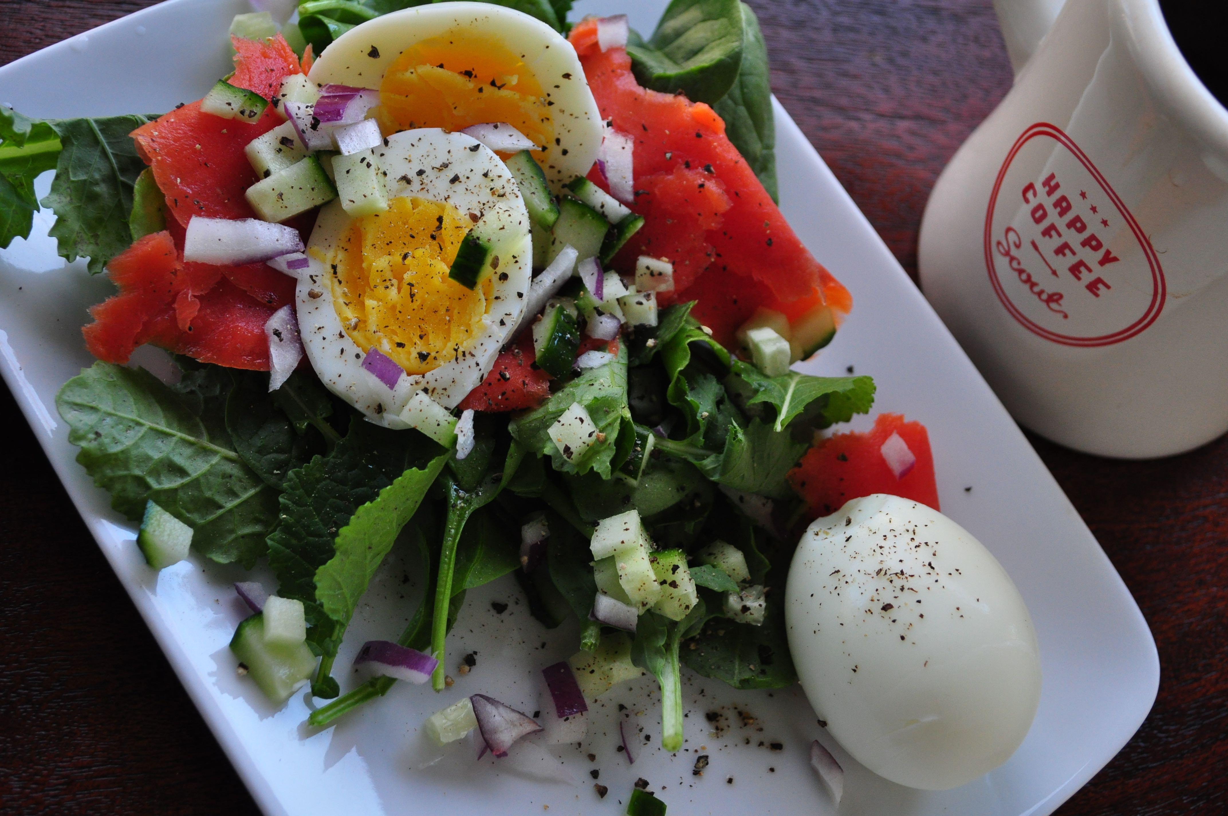 Hard Boiled Eggs Breakfast  Hard Boiled Eggs & Smoked Salmon Breakfast — What Runs Lori
