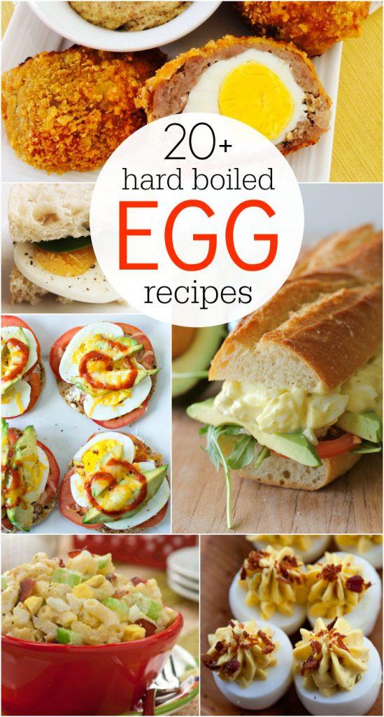 Hard Boiled Eggs Breakfast  20 hard boiled egg recipes