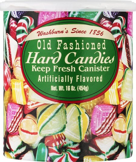 Hard Candy Christmas  Old Fashioned Hard Candy Holiday Ornament Easy DIY Craft