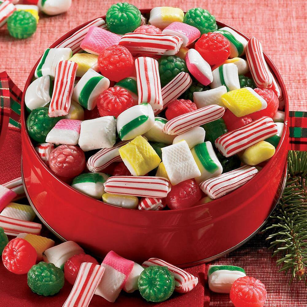 Hard Candy Christmas  Christmas Candy Gifts Sugar Free Old Fashioned Candy Mix