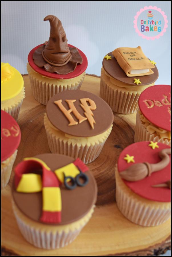 Harry Potter Cupcakes  Harry Potter Cupcakes Cake by Dollybird Bakes CakesDecor