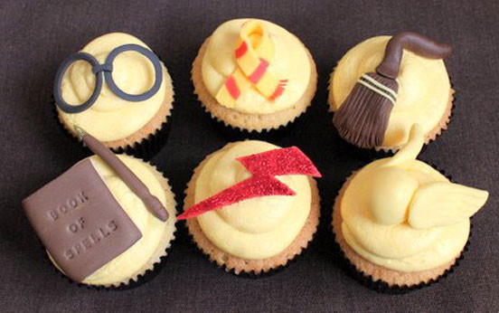 Harry Potter Cupcakes  Harry Potter inspired cupcakes recipe goodtoknow