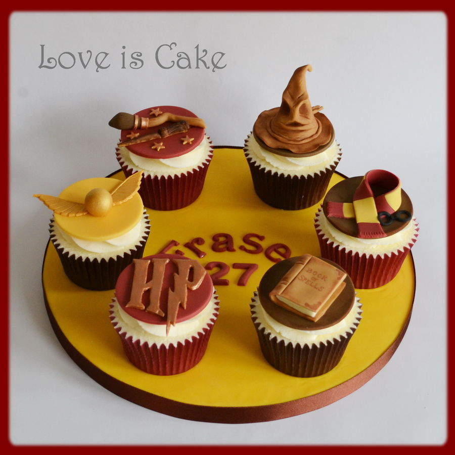 Harry Potter Cupcakes  Top Harry Potter Cakes CakeCentral