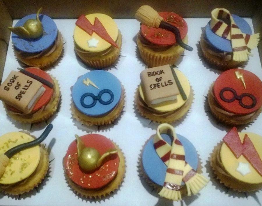 Harry Potter Cupcakes  Harry Potter Cupcakes CakeCentral