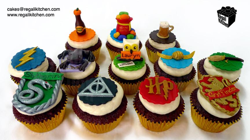 Harry Potter Cupcakes  Harry Potter Cupcakes for Lauryn