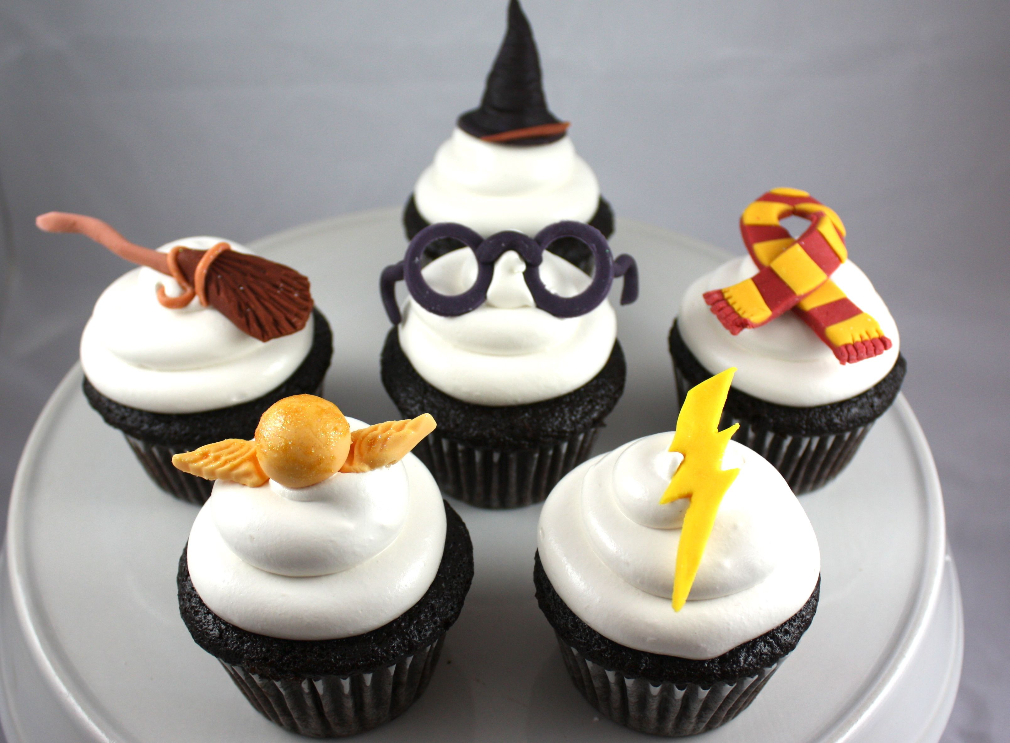 Harry Potter Cupcakes  harry potter cupcakes Harry Potter Cakes