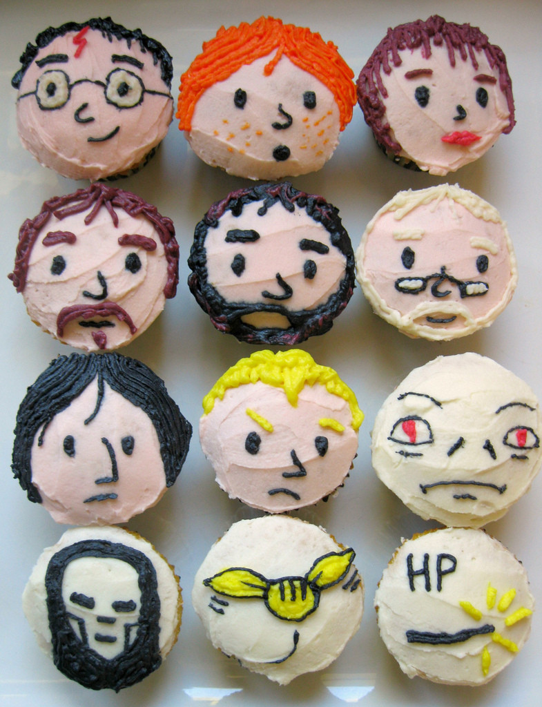 Harry Potter Cupcakes  Wanted Harry Potter Cupcakes – Flavorwire