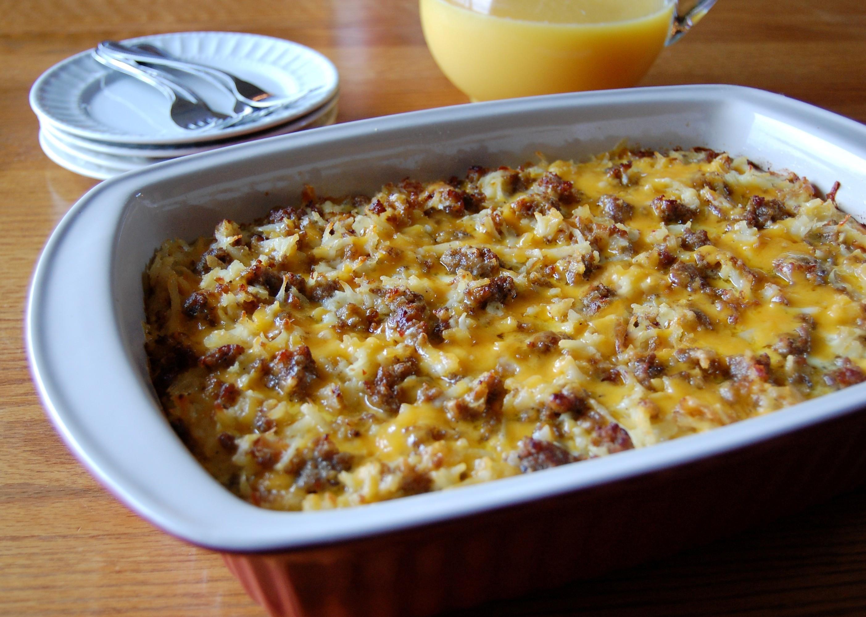 Hashbrown Breakfast Casserole Recipe  breakfast casseroles with hash browns