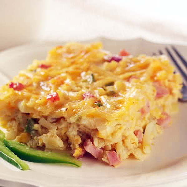 Hashbrown Breakfast Casserole Recipe  Creamy Sausage and Hash Brown Casserole for Festive Friday