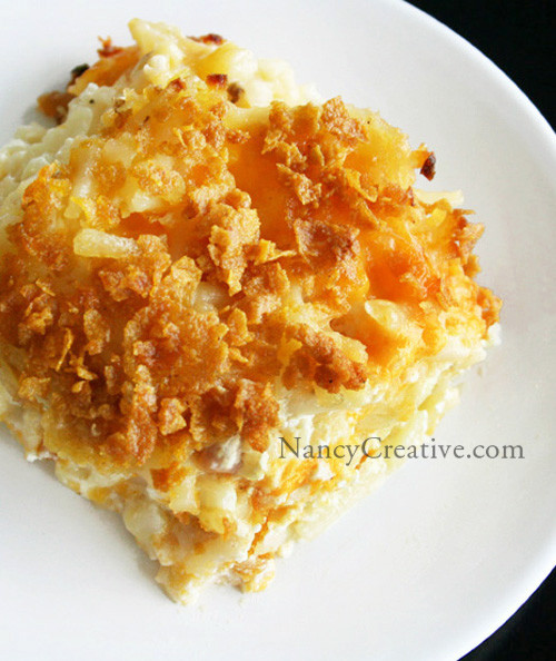 Hashbrown Potato Casserole  Cheesy Hash Brown Potatoes